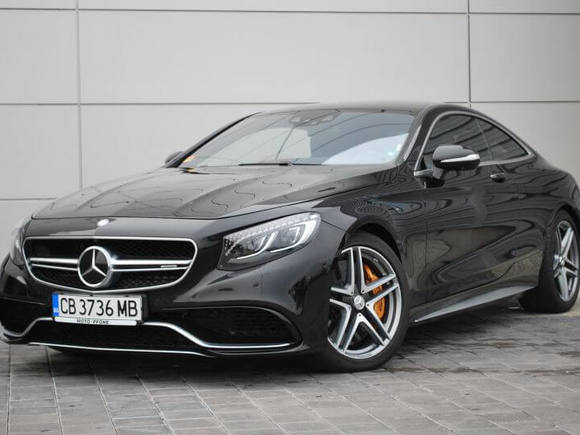 Mercedes-Benz S63 Coupe
